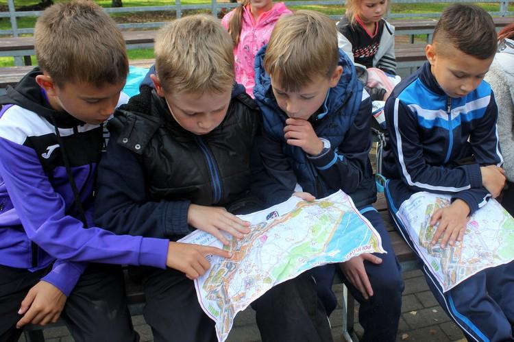 Foto: skolēni. Olimpiskā diena, 2017
