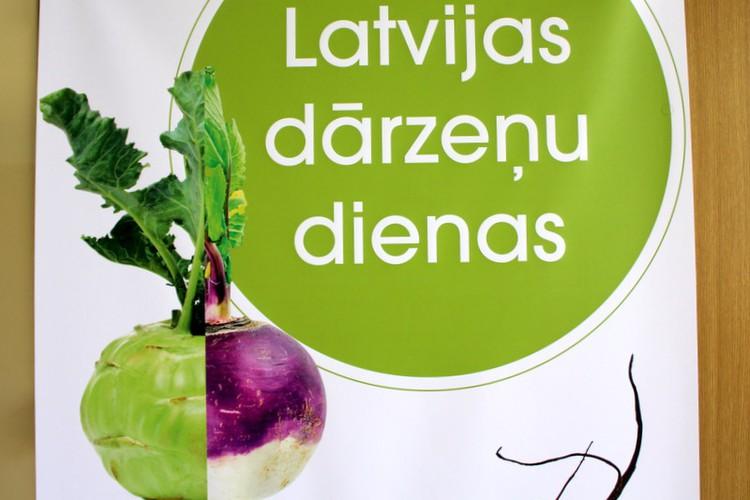 Buklets. Latvijas dārzeņu dienas