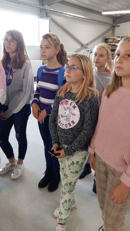 Foto: skolēni. Ekskursija uz