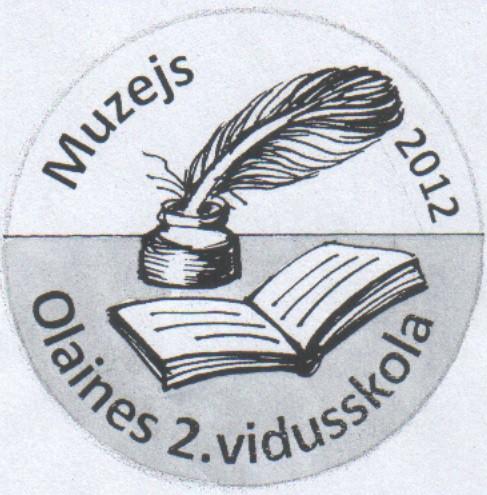 Logo: Olaines 2. vidusskolas muzejs