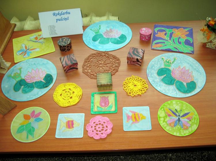 Foto: skolēnu radošie darbi