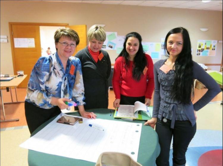 Foto: izglītības projekta dalībnieki