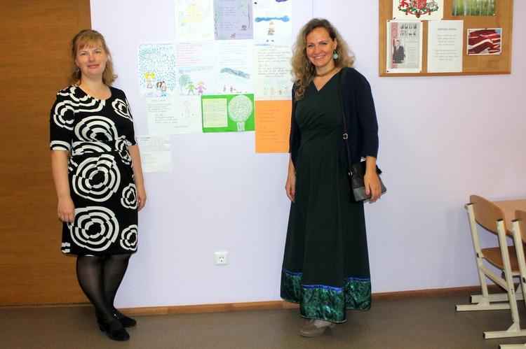 Foto: skolotāji. Pašpārvaldes diena