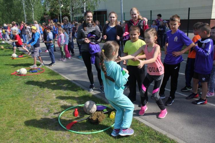 Foto: sporta diena