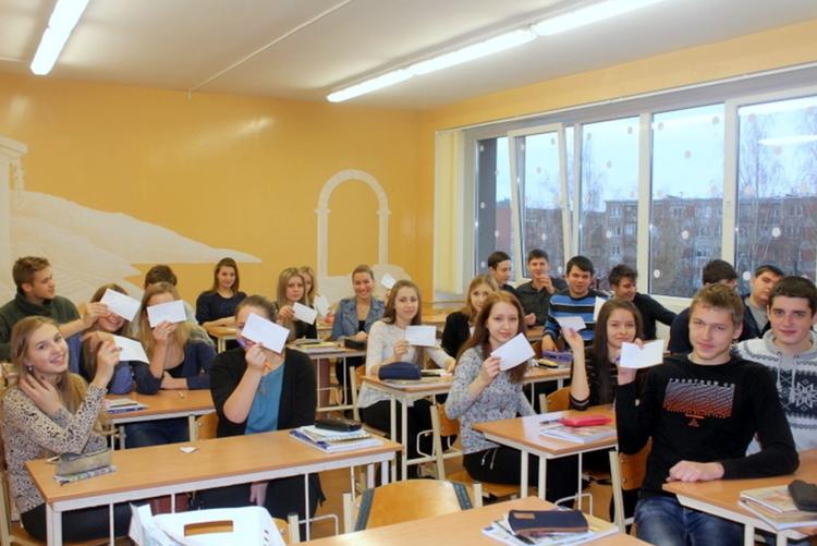 """Foto: skolēni . Projekts """" Rīga – Eiropas kultūras galvaspilsēta 2014"""""""