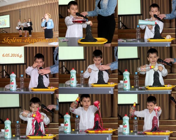 "Foto: ""Skolēni eksperimentē!"""