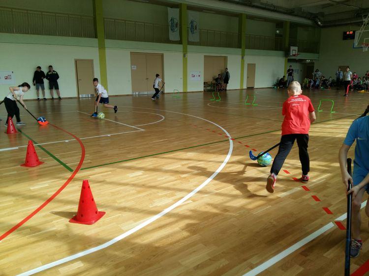 Foto: skolēni. Sporta diena
