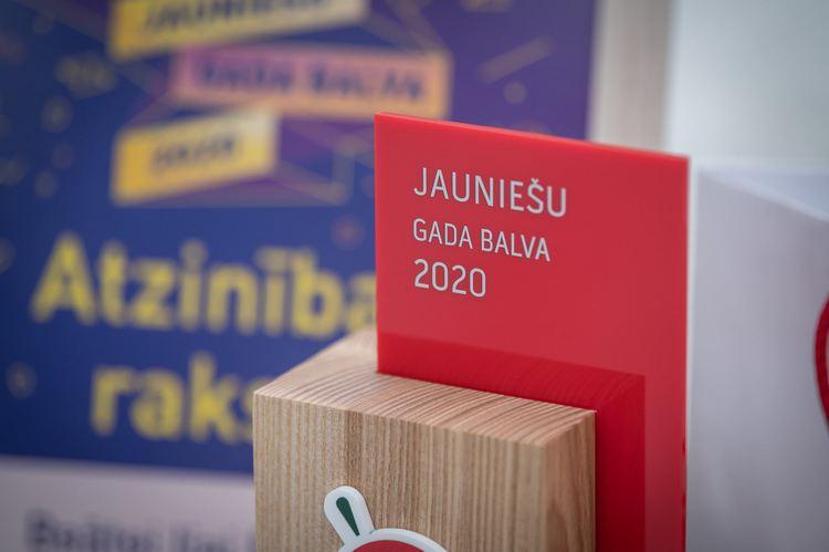 Kartīte: Jauniešu gada balva 2020