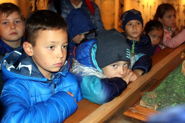 Foto: skolēni. Ekskursija uz Tērvetes koka pili