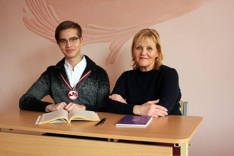 Foto: Maksims Piļščikovs un Velta Šinkarenko
