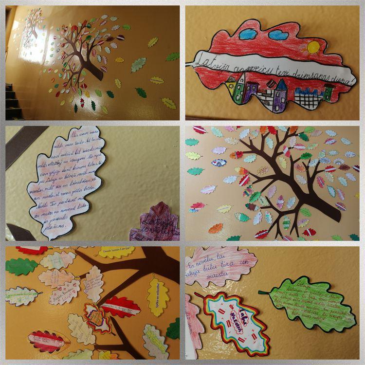 Skolēnu radošie darbi