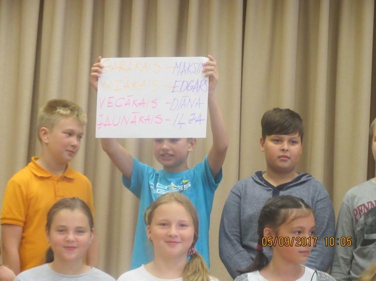 Foto: skolēni. Adaptācijas dienu pasākumi 5. klasēs