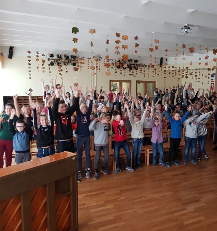 Foto: Olaines 2. vidusskolas skolēni. Aktivitāšu nedēļa (25.11.19 - 29.11.19)