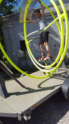 Foto: skolēns. Pirmais fizikas festivāls Rīgā