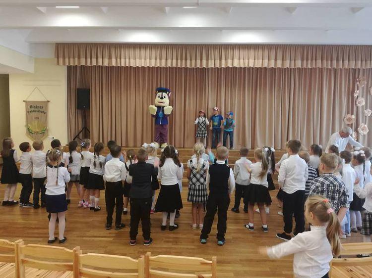 Foto: pirmklasnieku svētki
