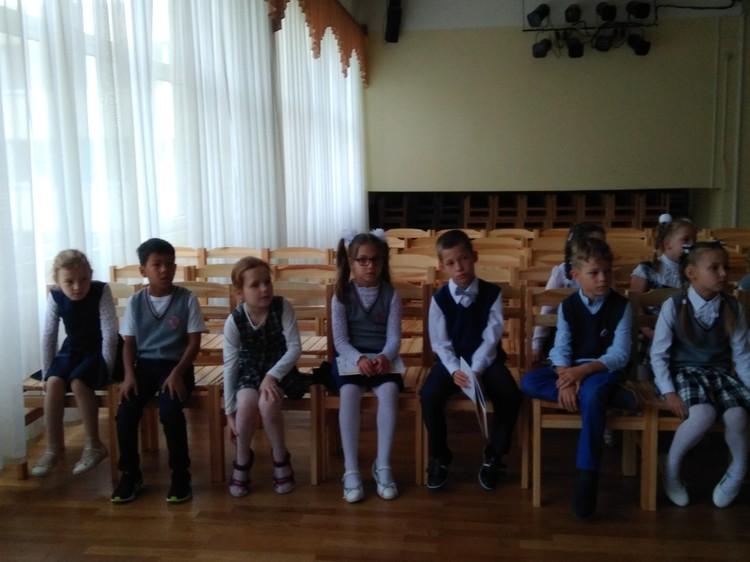 Foto: klases stunda pirmklasniekiem