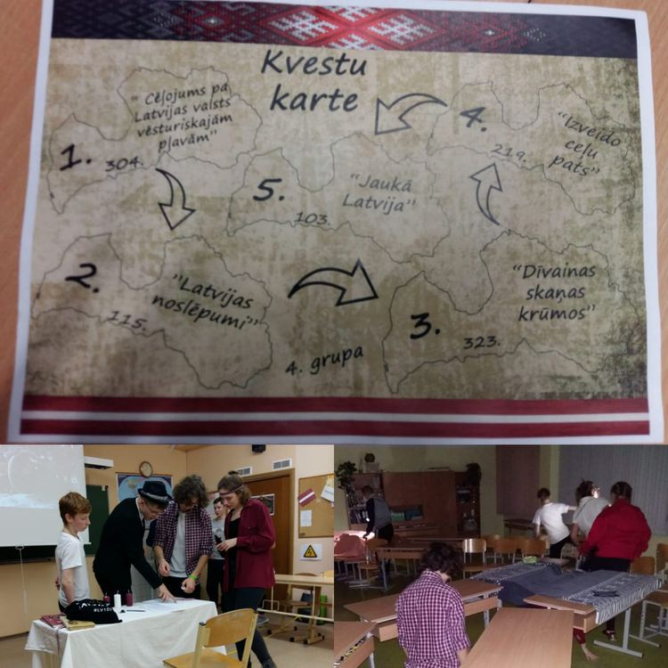 """Foto: projekts """"Bibliotēkas nakts: citāda Latvija"""""""
