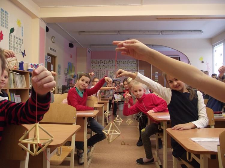 Foto: skolēni. Konkurss