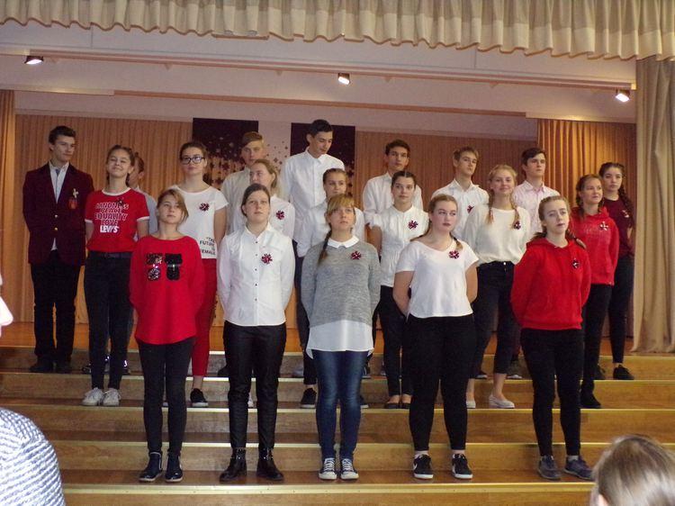 Foto: skolēni. Koncerts