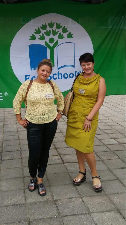 Foto: Jeļizaveta Šlikova un Olga Vonoga