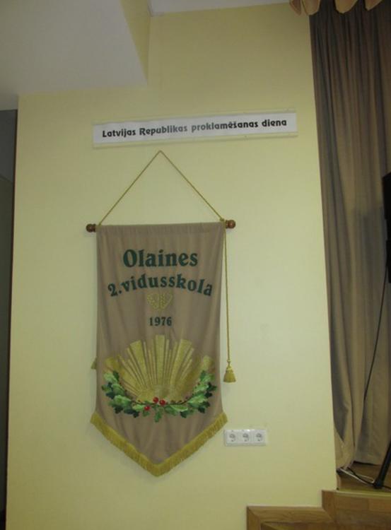 Foto: Olaines 2. vidusskolas aktu zāle