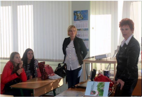 Foto: delegācija no Polijas pilsētas Nova Saržina