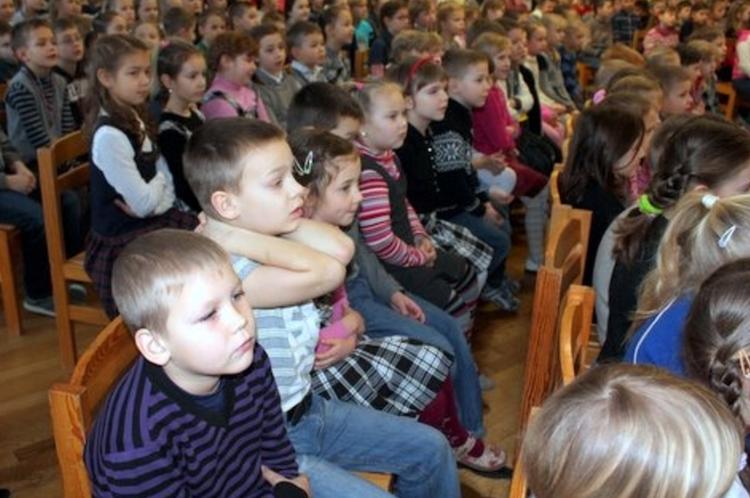 Foto: literatūras stunda 5.c klasē