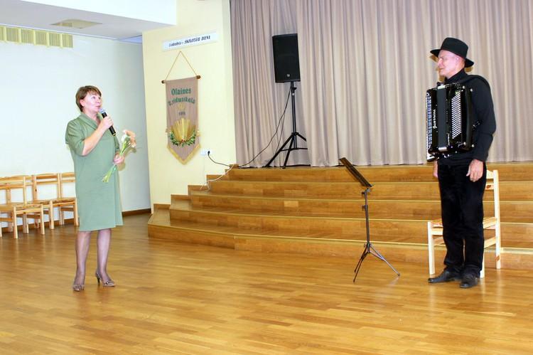Foto: koncerts. Skolotāju diena