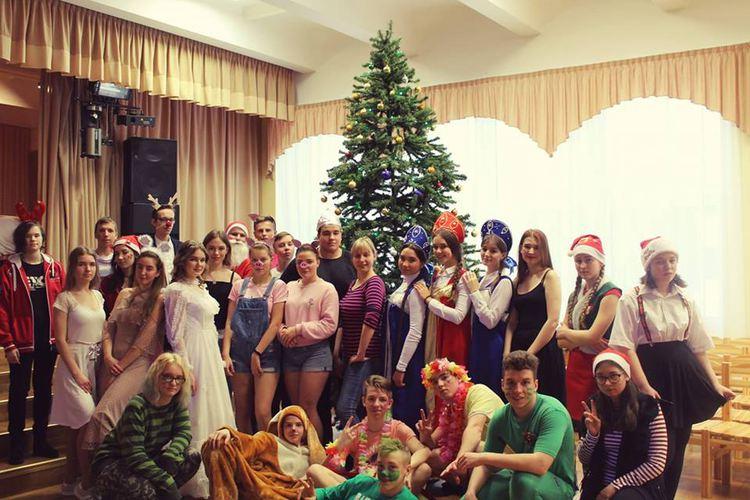 Foto: skolēni. Ziemassvētku pasākumi