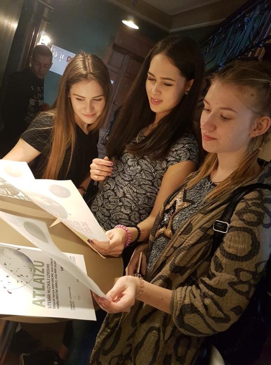 Foto: skolēni. Jauniešu integrācijas un līdzdalības sekmēšanas projekts